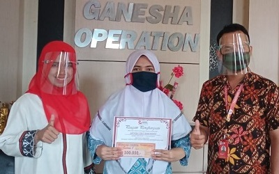 Siswi SMAN 1 Pasaman Raih Nilai Tertinggi Pada Lomba UMC 2020 Tingkat SMA se Indonesia